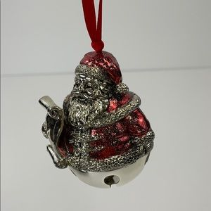 Living quarters silver plated hanging bell